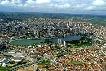 City of Campina Grande, Paraiba, Brazil