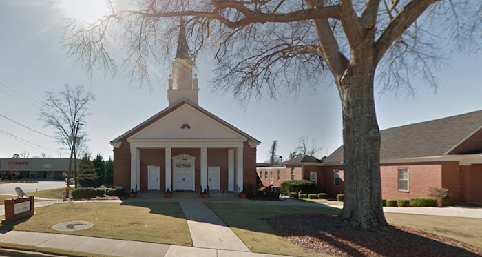 Columbus, Georgia, church building burglarized