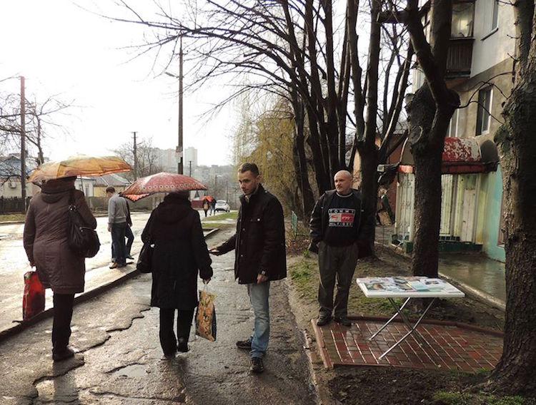 Evangelism continues in wartorn Ukraine