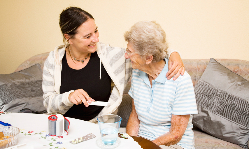 'Calamity always lurks nearby.' The challenges of a caregiver