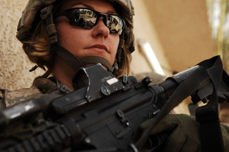 Battle for the sexes: American women in combat