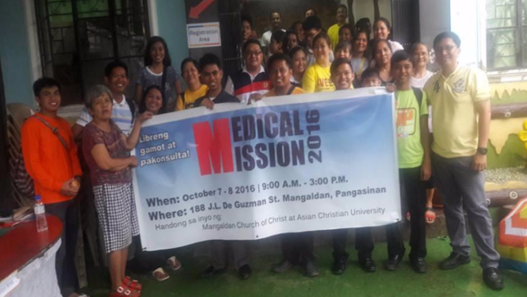 Filipinos conduct medical mission, treat 625, baptize 19