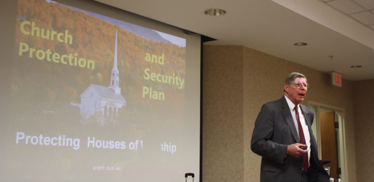 Faulkner University hosts mass shooting preparedness seminar for area churches