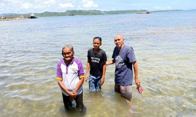 13 baptized in Philippines' Samar island