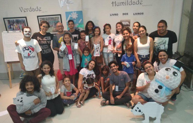 Amazon church hosts first 'fun' Bible school