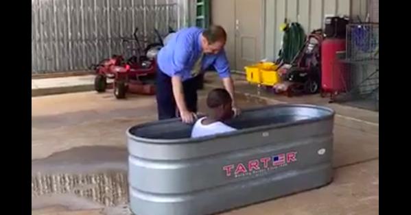 Four baptized in Alabama correctional facility