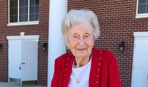 100-year-old widow has advice for young people